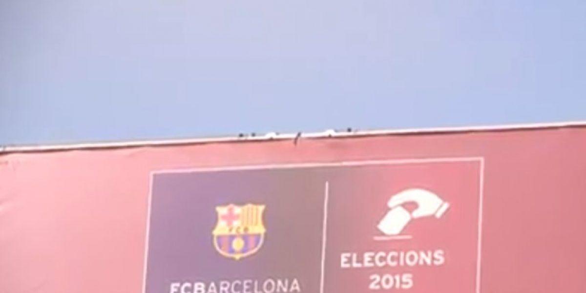 FOTOS: Las estrellas del Barcelona votan para elegir nuevo presidente