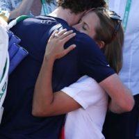 Andy Murray ganó los tres puntos con los que Gran Bretaña eliminó a Francia Foto:AFP