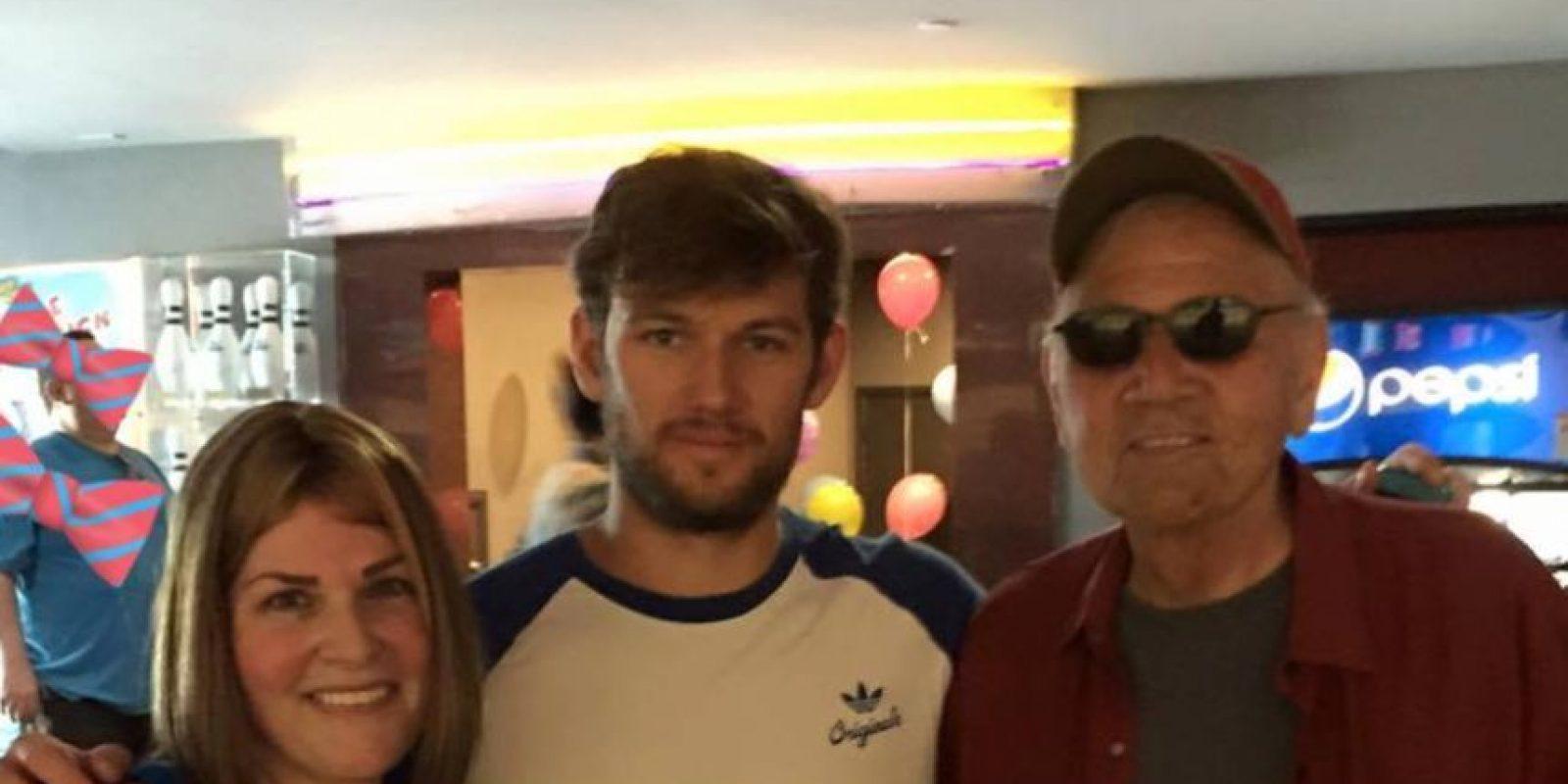 Esta fue la última fotografía de Jennifer con su padre. Foto:vía facebook.com/Jennifer.Real.Rocco