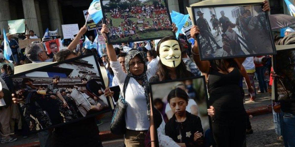 EN IMÁGENES. Realizan exposición fotográfica sobre genocidio y gobiernos militares