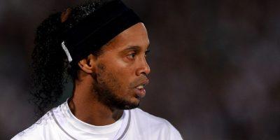 Ronaldinho ganaba 1.8 millones de dólares en el Querétaro de México Foto:Getty Images