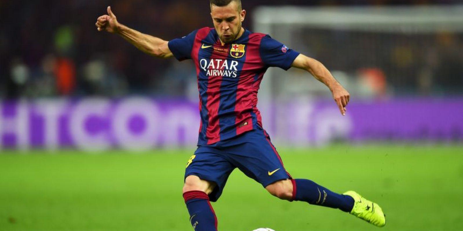 Jordi Alba se hace con 6.7 millones de dólares en el Barcelona Foto:Getty Images