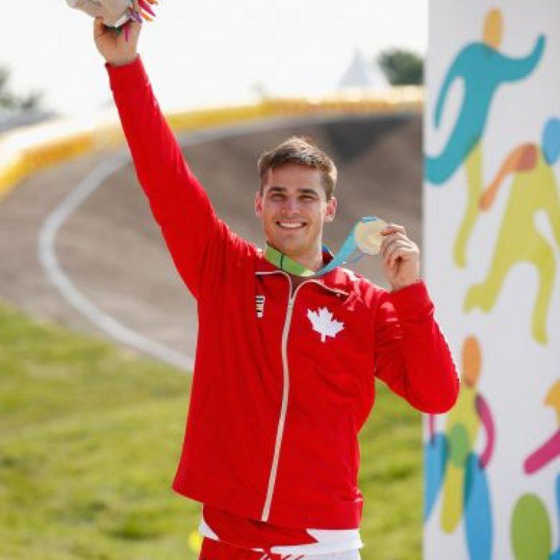Tory Nyhaug ganó oro en BMX masculino. Foto:Getty Images