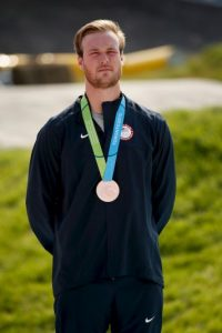 Nicholas Long ganó bronce en BMX masculino. Foto: Getty Images