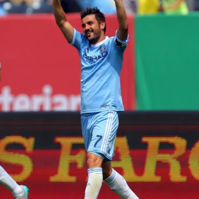David Villa Foto: Getty Images