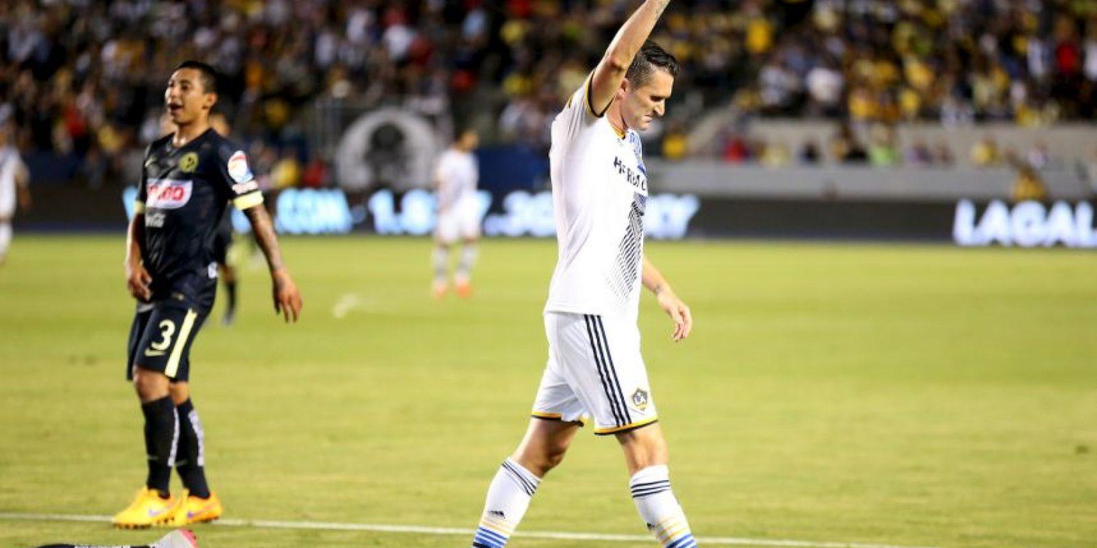El futbolista irlandés se embolsa 4.5 millones con el Galaxy de Los Angeles Foto:Getty Images