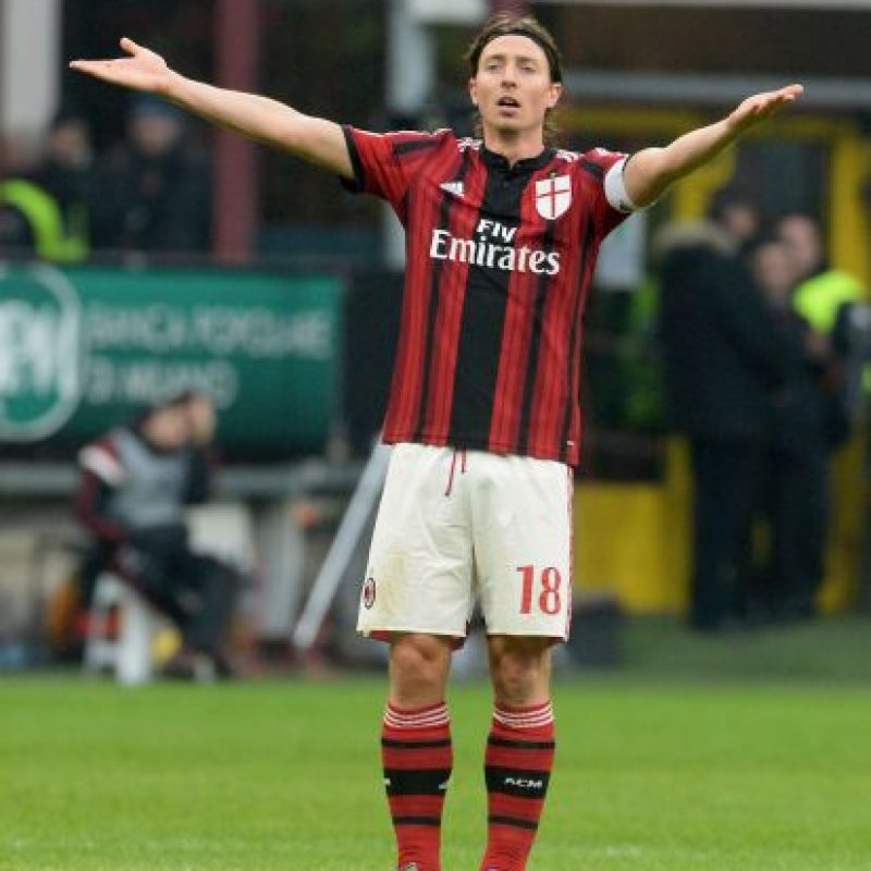 Ricardo Montolivo se embolsa 3.79 millones en el Milán Foto:Getty Images