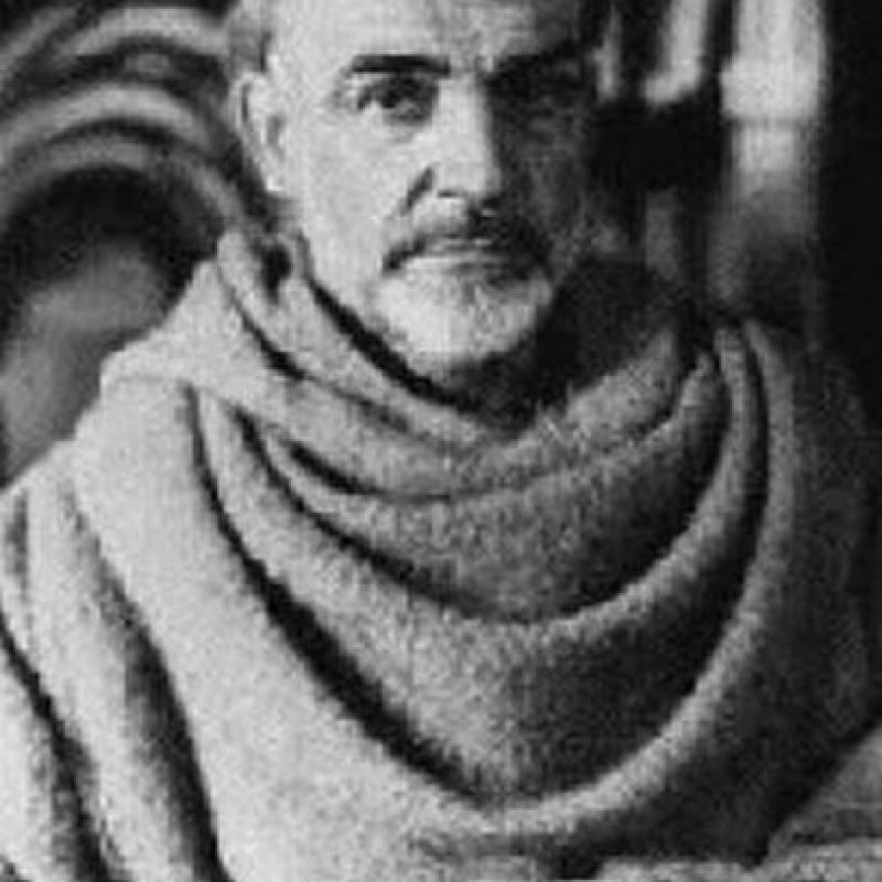 """William de Baskerville"", de la película ""El nombre de la Rosa"" / Actor: Sean Connery Foto: Wikicommons"