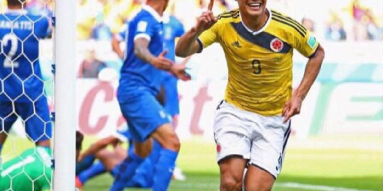 Teófilo es seleccionado colombiano Foto:Vía twitter.com/TeoGolR
