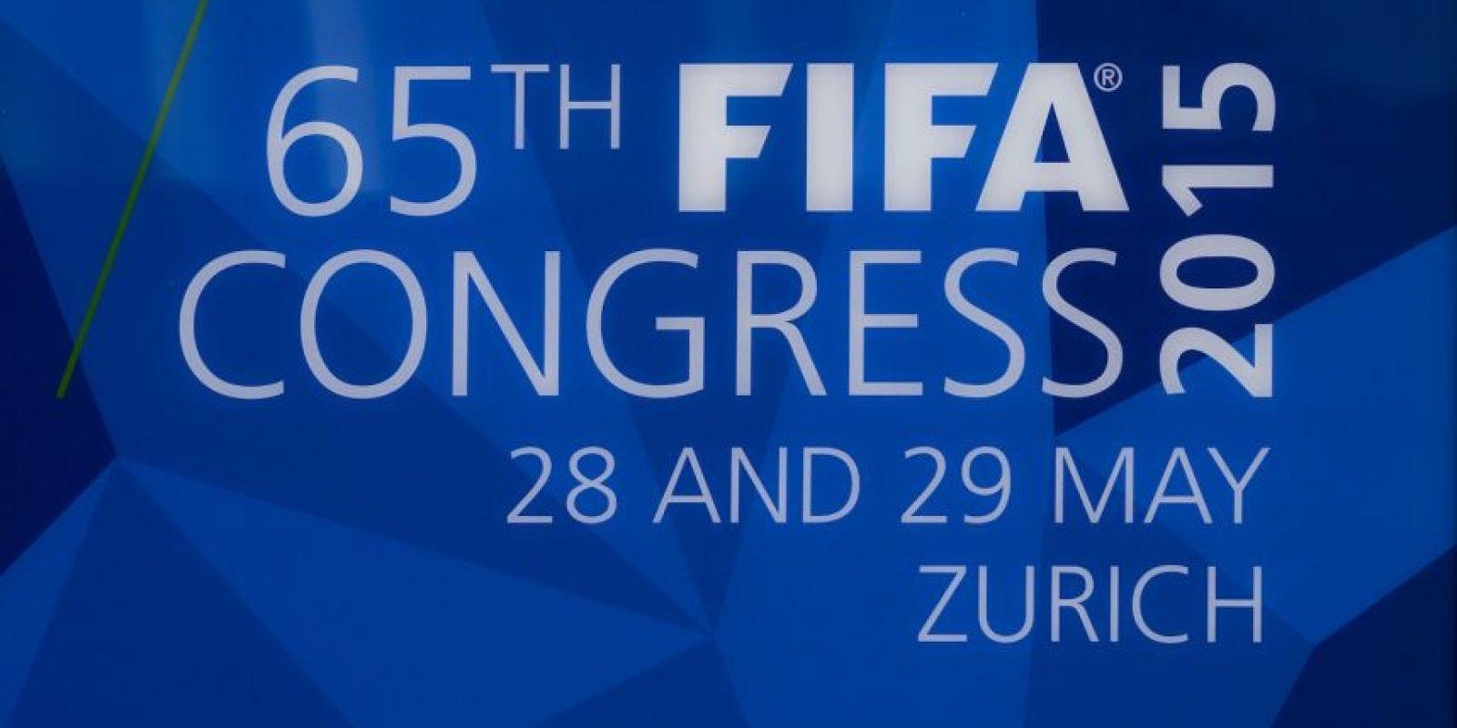 Aunque Joseph Blatter fue reelegido como presidente por cuatro años más (hasta 2019) el pasado mes de mayo, durante el 65º Congreso en Zurich Foto:Getty Images