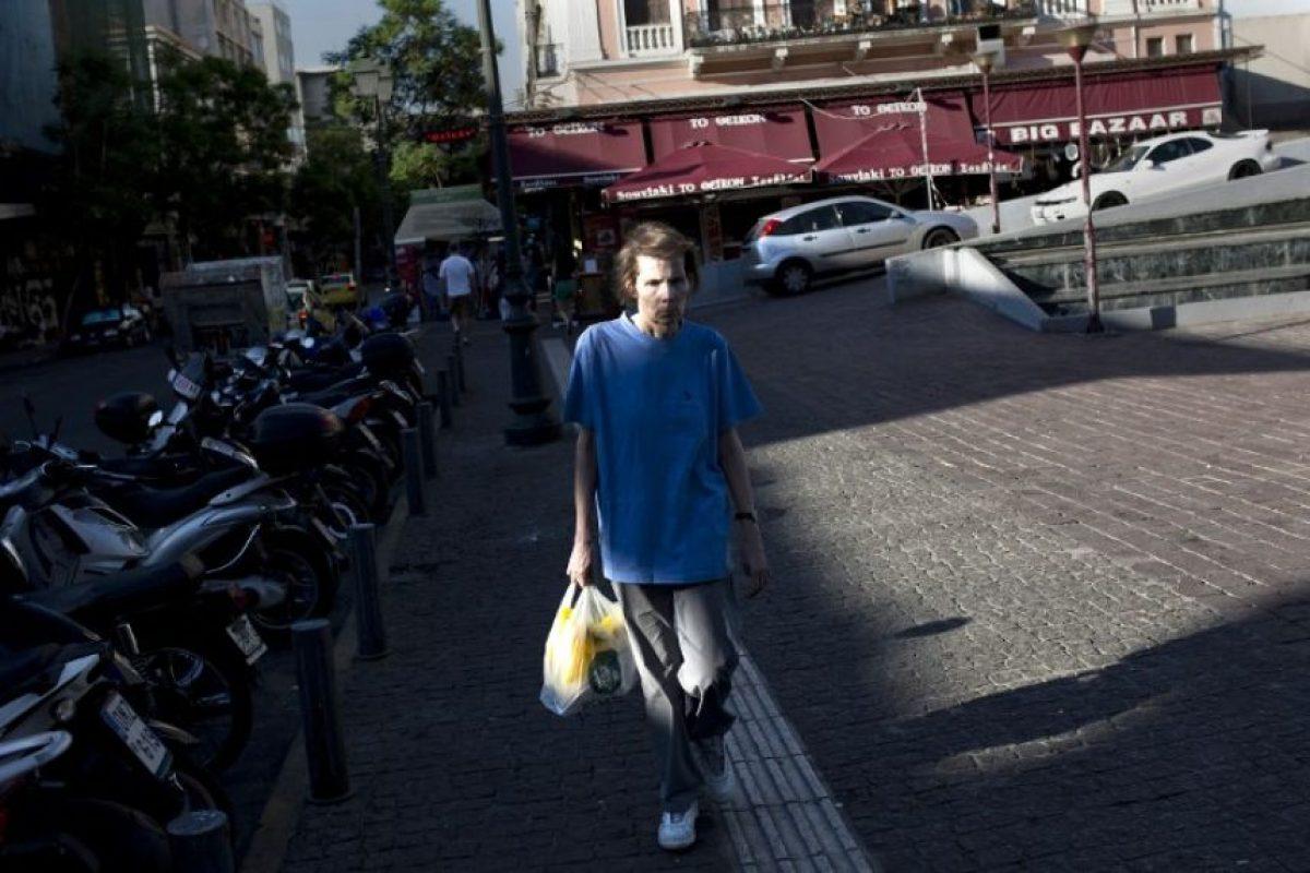 Ese día se convocó a un referéndum para decidir la postura griega sobre las condiciones del Eurogrupo, el cual se llevó a acabo el 5 de julio Foto:AFP