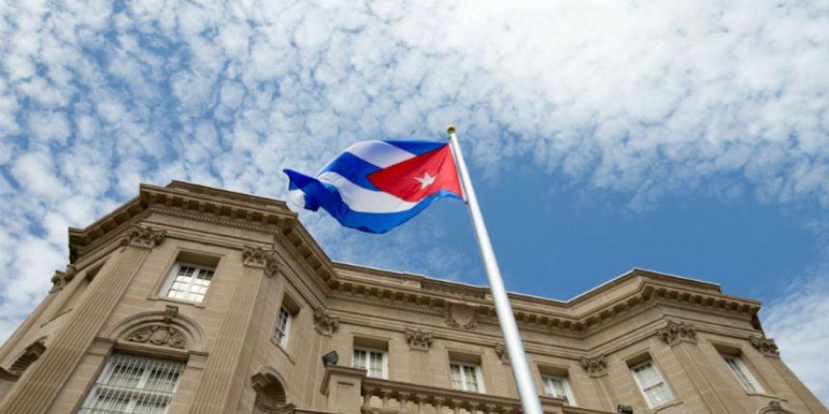Cuba iza su bandera en Estados Unidos