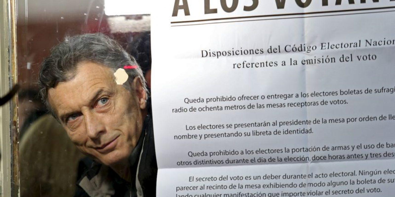 """""""Con este resultado, Macri sale fortalecido para ser candidato a las elecciones presidenciales"""", explica Eduardo Rosales Herrera. Foto:AP"""