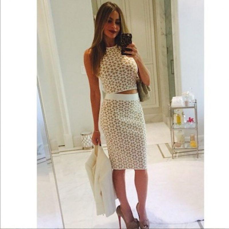 Sofía Vergara es una de las estrellas de Hollywood que trata por todos los medios de conservarse atractiva Foto:Instagram/SofiaVegara