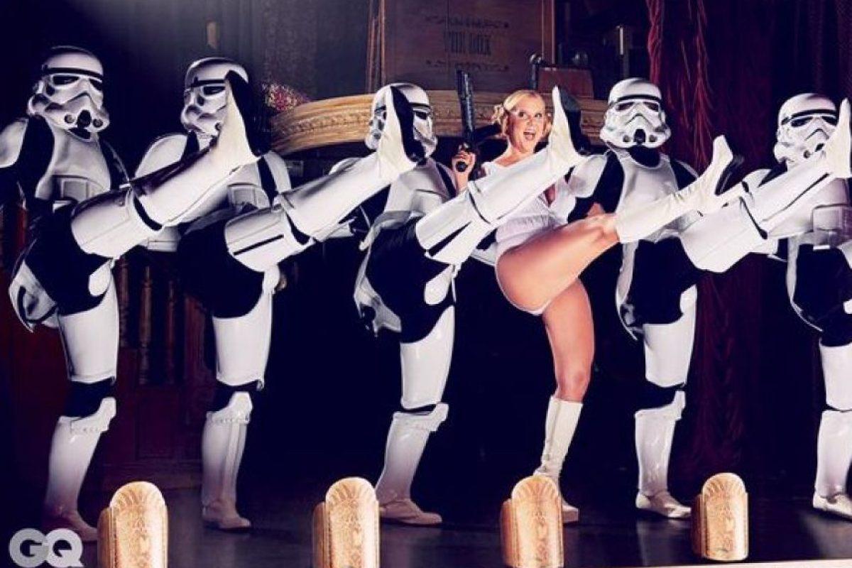 """Disney expresó su desacuerdo a través de la cuenta oficial de Twitter de """"Star Wars"""". Foto:Twitter/AmySchumer"""