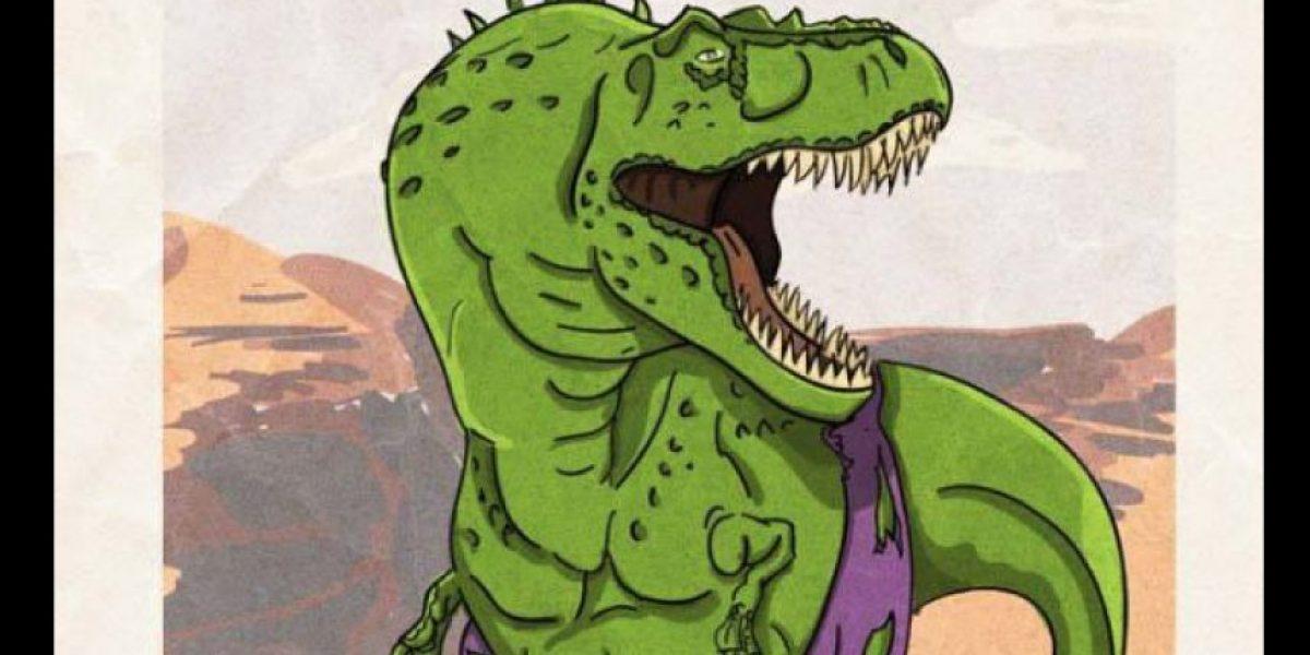 Imágenes. ¿Qué pasaría si Marvel Comics y Jurassic World se mezclaran?