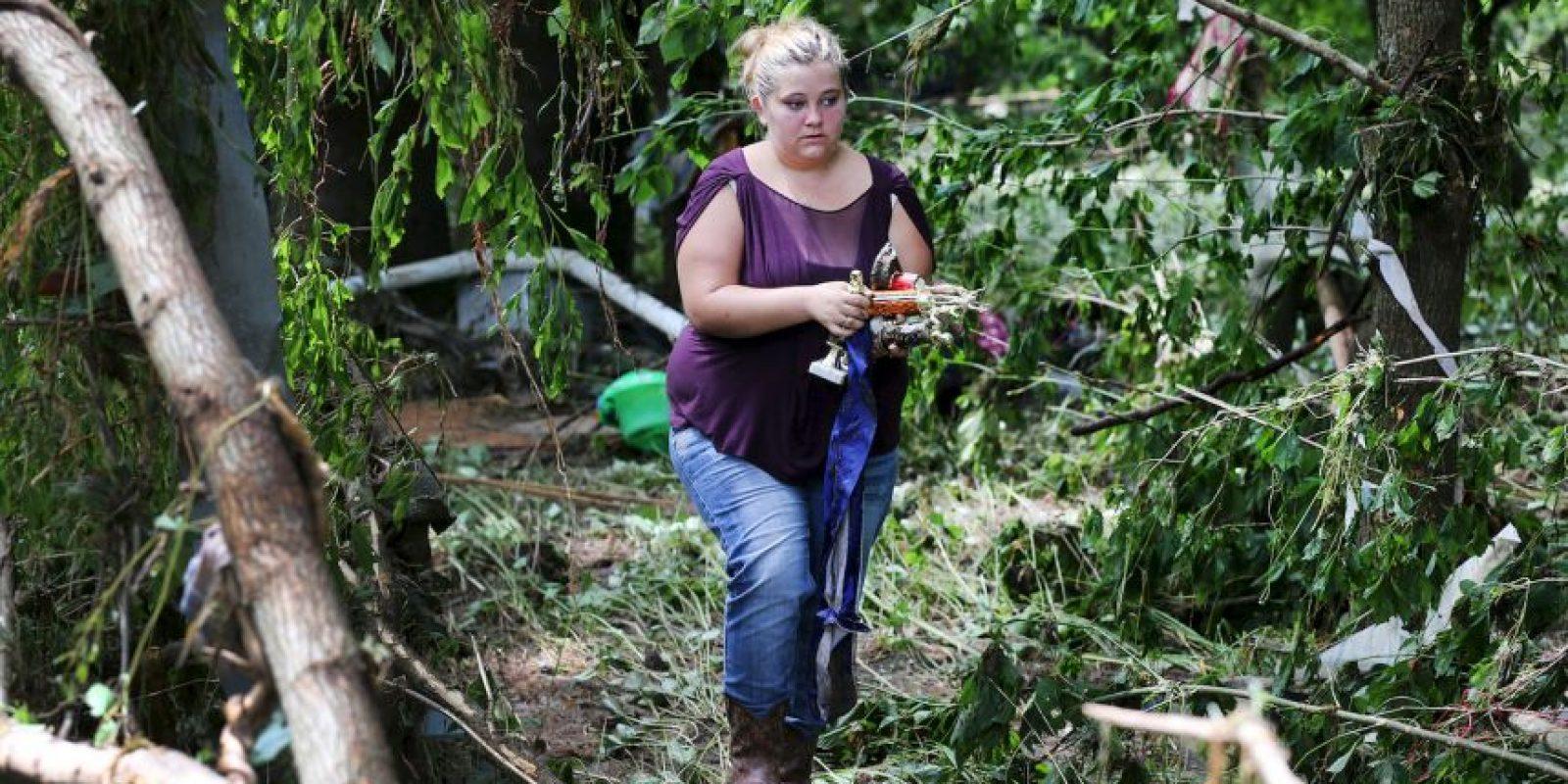 Otras familias también fueron afectadas. Foto:AP