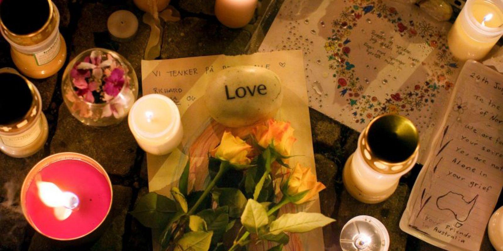 La explosión ocurrió cerca de la oficina de Jens Stoltenberg, entonces primer ministro del país. Foto:Getty Images