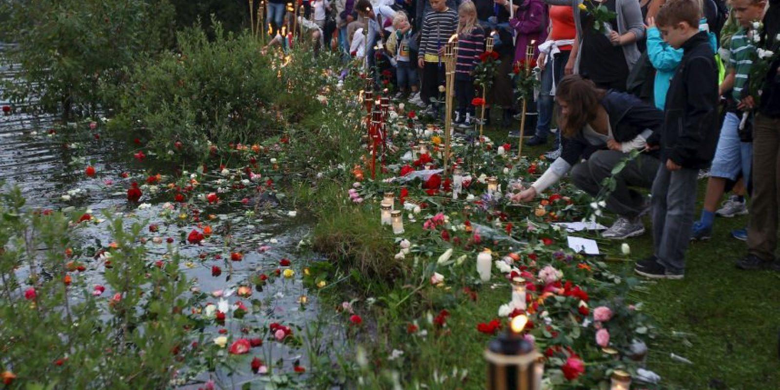 Pocas horas después, Anders se infiltró en los cuerpos de seguridad Foto:Getty Images