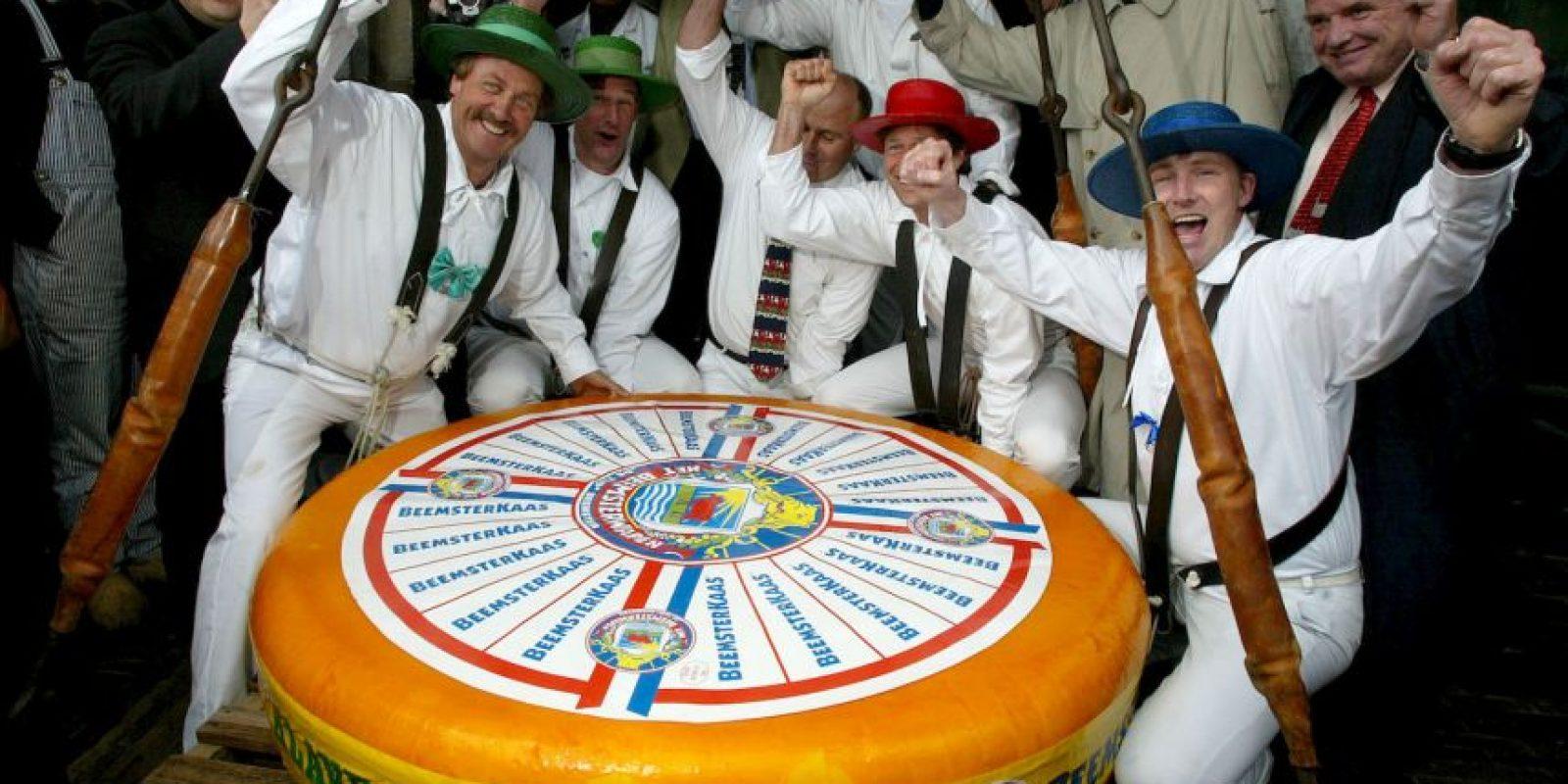 El queso más grande Foto:Getty images