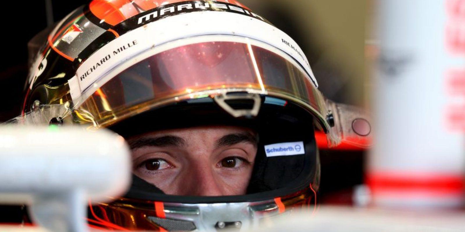La Fórmula 1 también está de luto. El pasado 17 de julio se anunció que el piloto francés Jules Bianchi había fallecido. Foto:Getty Images