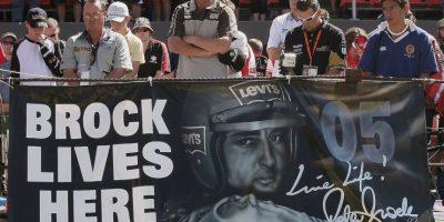 En 2006 murió Peter Brock, leyenda australia del automovilismo. Compitió durante la década de los 70 y 80, y se retiró en 1997, pero volvió en 2002 para formar su propio equipo y competir en el Campeonato Mundial de Rally. Foto:Getty Images
