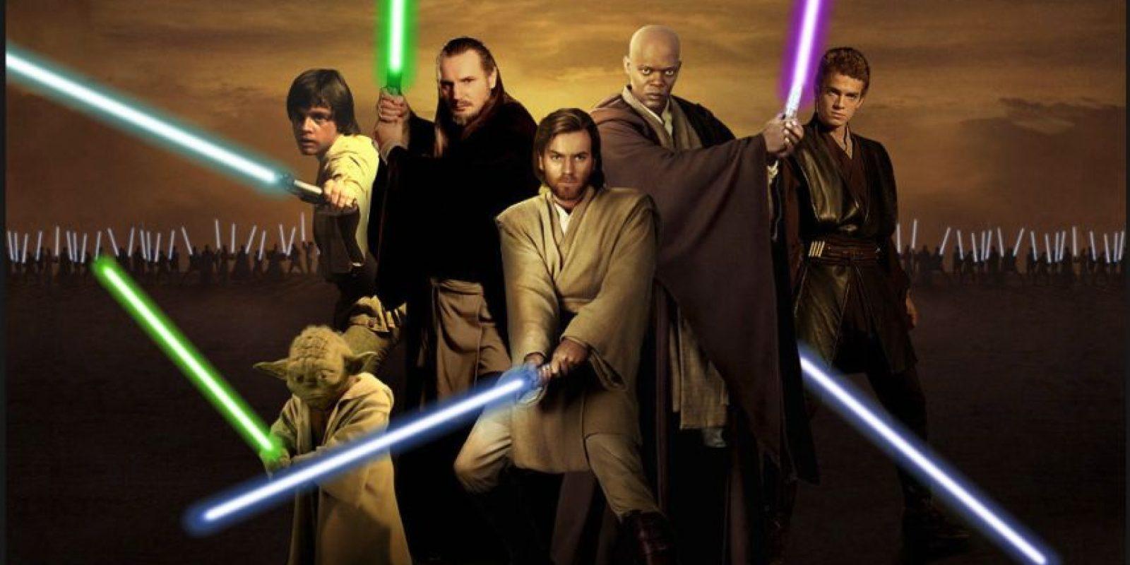 Los Jedi son personajes de gran poder y sabiduría seguidores del Lado Luminoso de La Fuerza Foto:Wikia/Star Wars