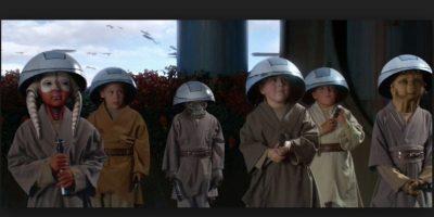 El objetivo de la filosofía Jedi no es sólo obtener el máximo poder de la Fuerza desde pequeños Foto:Wikia/Star Wars