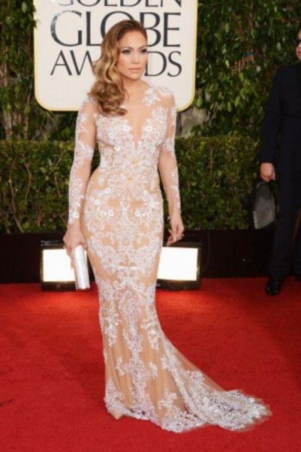 1. Jennifer López en los Premios Globo de Oro en 2013 Foto:Getty Images