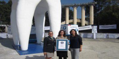 La muela más grande del mundo. Foto:Vía guinnessworldrecords.es