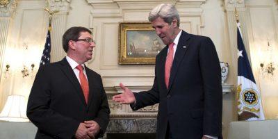 Ambos funcionarios reconocieron que no sería fácil que las nuevas relaciones diplomáticas dieran resultados rápidamente. Foto:AP