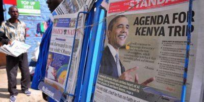 Principalmente porque los actos homosexuales son ilegales en Kenia. Foto:AFP