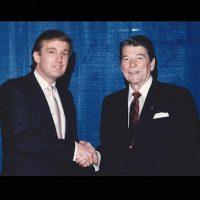 Con el presidente Ronald Reagan Foto:Instagram.com/RealDonaldTrump