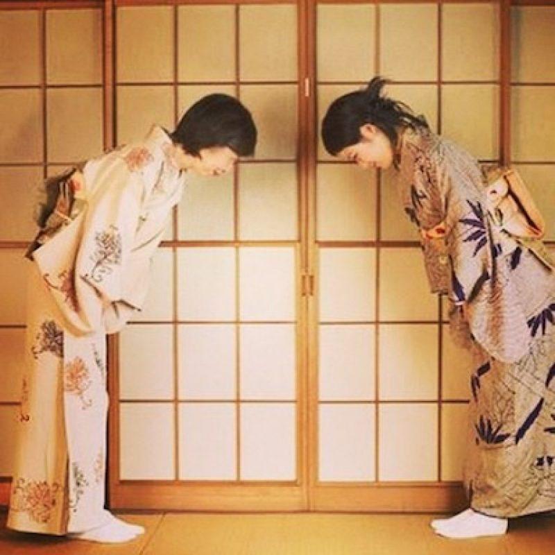 Una de las diferencias más notorias de Japón con los países occidentales es el uso de la reverencia Foto:Instagram.com/the_sakura_way