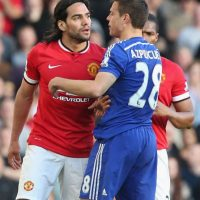 Radamel Falcao jugó en el Manchester United la temporada pasada. Foto: Getty Images