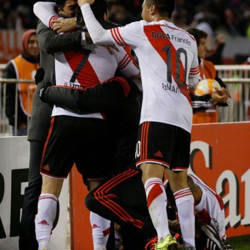 Gabriel Mercado y Rodrigo Mora anotaron los tantos del triunfo de los argentinos. Foto:Getty Images