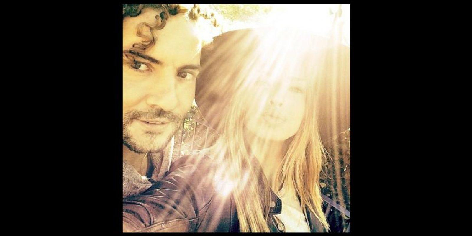 """Eugenia y David grabaron juntos el videoclip """"Hoy"""". Foto:Instagram/enchinadaok"""