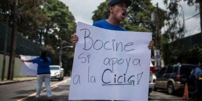 EN IMÁGENES. CICIG recibió apoyo y aprobación de los guatemaltecos