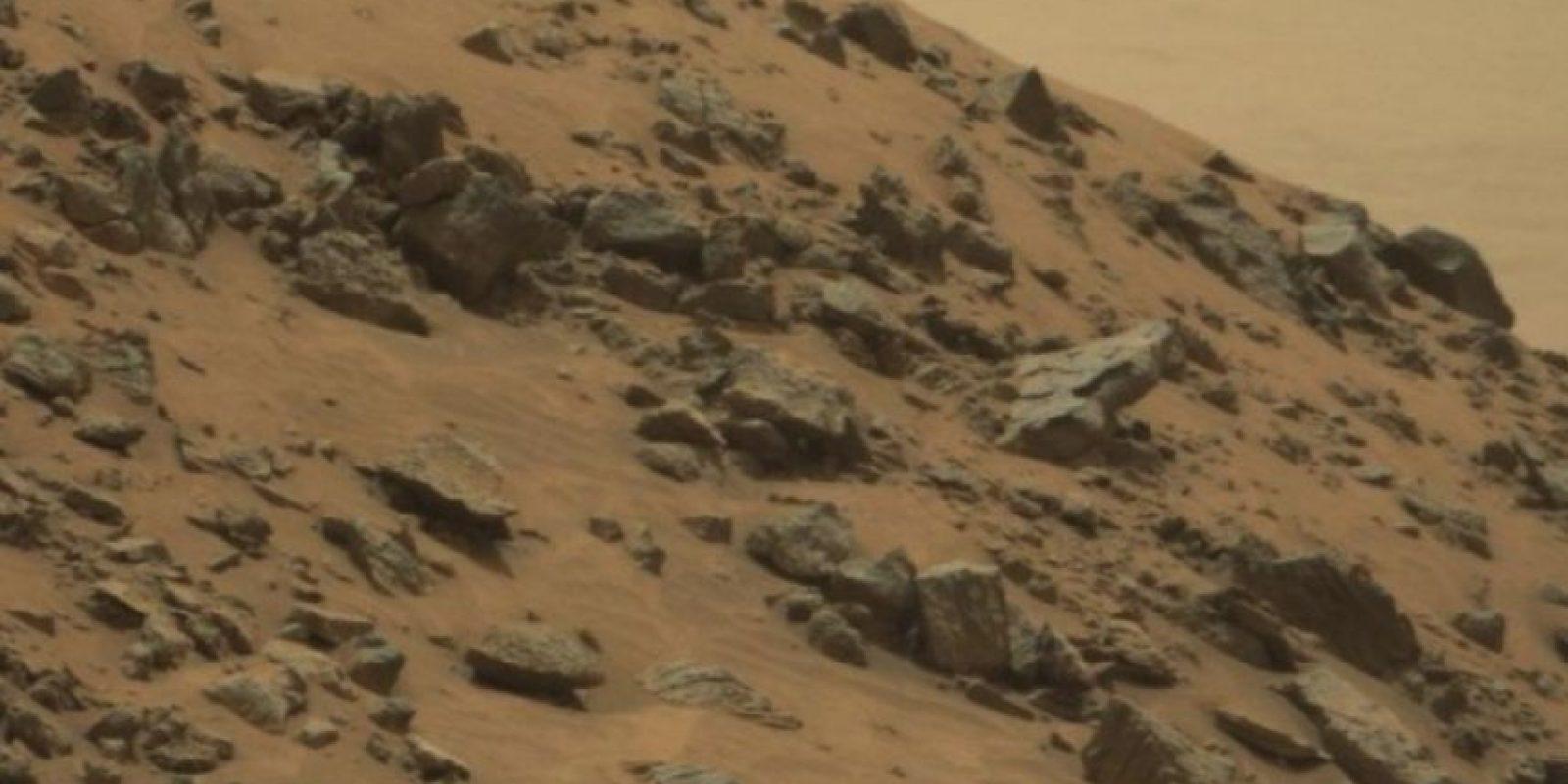 Fue descubierta en junio de 2015. Foto:NASA. Foto original en http://mars.nasa.gov/msl/multimedia/raw/?rawid=0978MR0043250040502821E01_DXXX&s=978