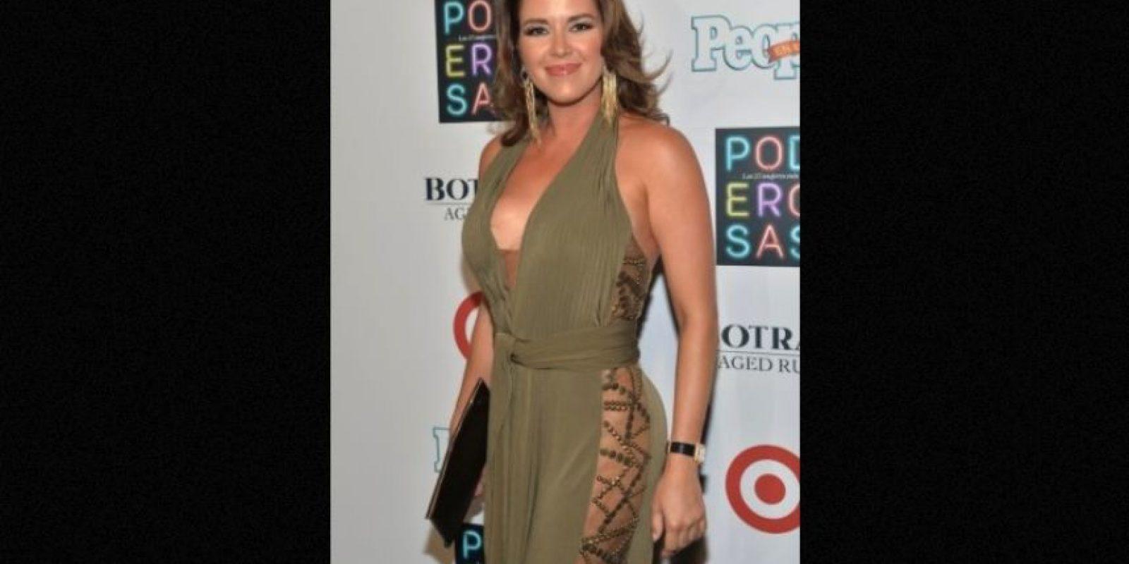 Alicia Machado Foto:Getty Images