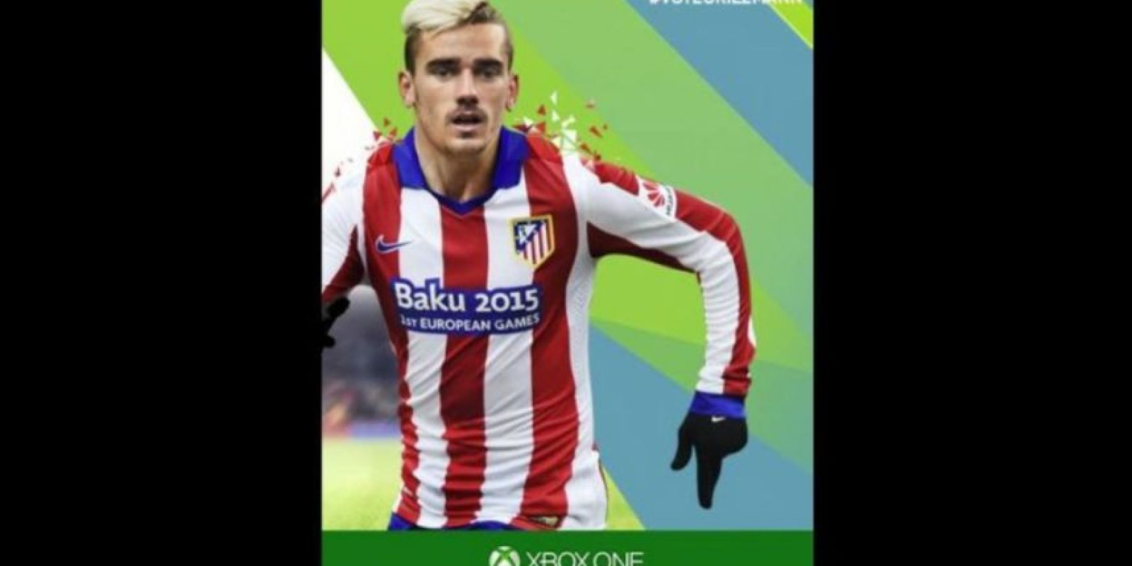 Griezmann es el goleador del club español Atlético de Madrid. Foto:EA Sports