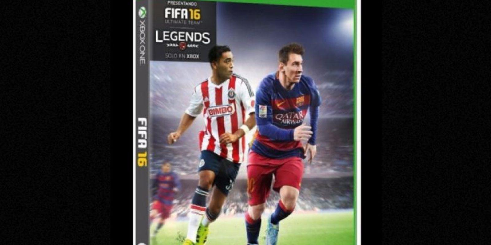 Este es el diseño de la portada dedicada a México. Foto:EA Sports