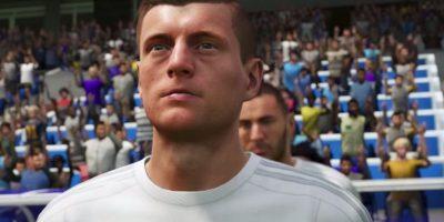 Toni Kroos en el FIFA 16. Foto:EA Sports