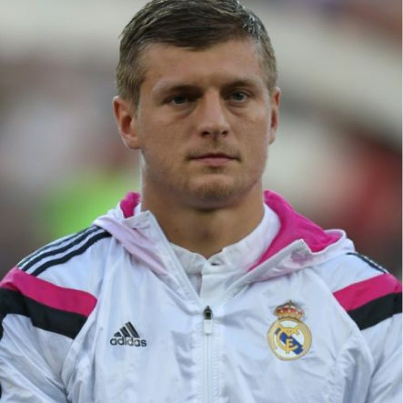 Toni Kroos en la vida real. Foto: Getty Images