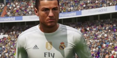 Cristiano Ronaldo en el FIFA 16. Foto:EA Sports