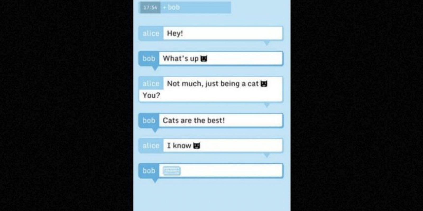 El servicio asegura que todos los mensajes son encriptados antes de salir de su dispositivo y ni ellos pueden leerlos. Foto:Tumblr