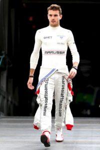 El piloto de Marussia (hoy Manor), se accidentó en octubre de 2014, durante el Gran Premio de Japón y ya no se recuperó. Foto:Getty Images