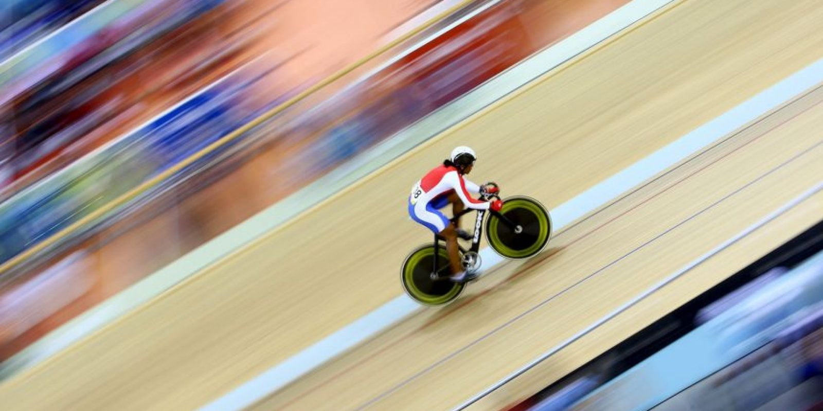 Ganó una medalla de bronce en los mundiales de ciclismo de este año. Foto:Getty Images