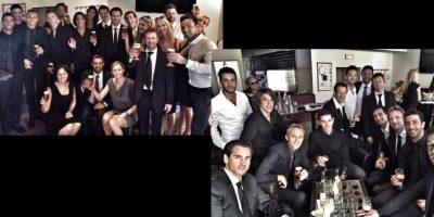 Después del funeral del piloto francés Jules Bianchi, sus compañeros en Fórmula 1 se reunieron para brindar por él. Foto:Vía twitter.com/danielricciardo