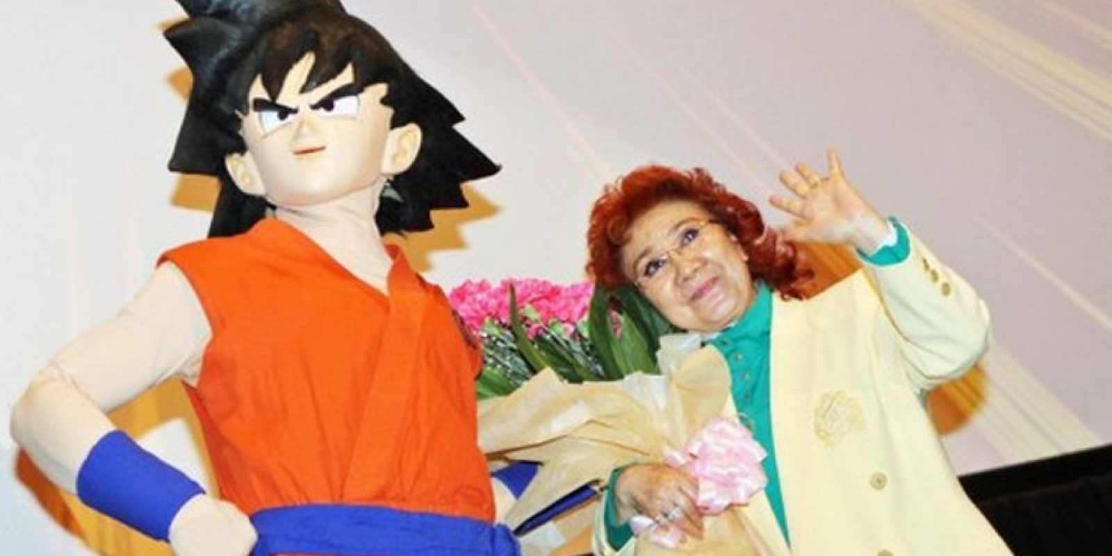 Masako Nozawa hace la voz de Gokú